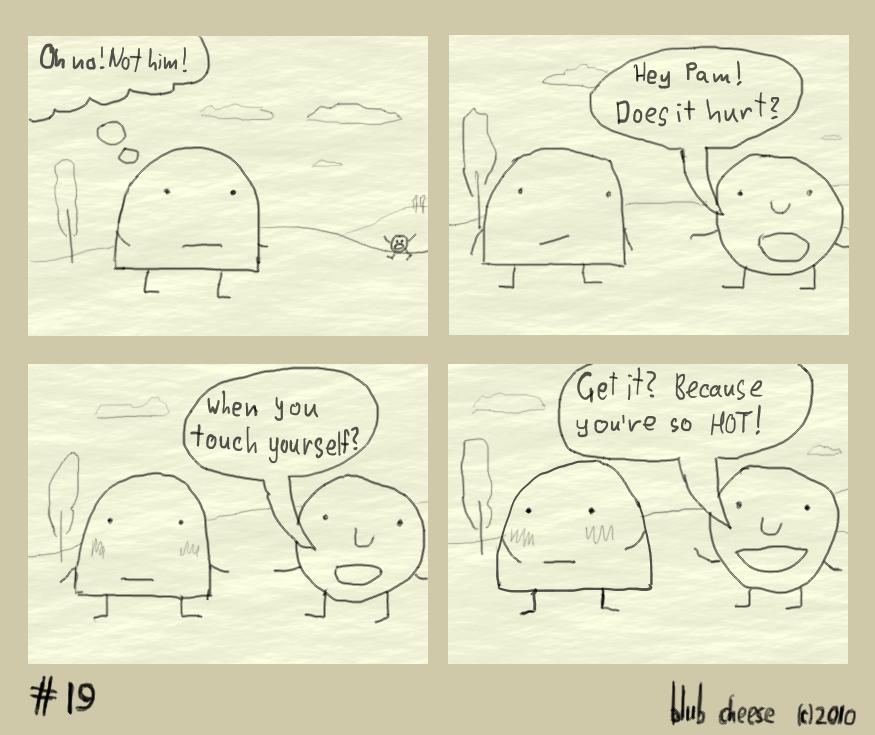 Unfortunate encounter